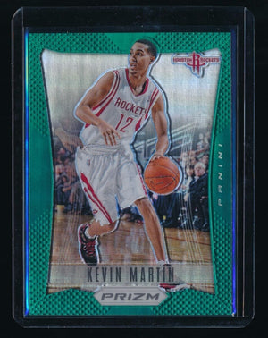 KEVIN MARTIN 2012-13 PANINI PRIZM PRIZMS GREEN #82 *HOUSTON ROCKETS*