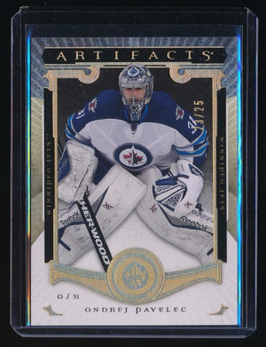 ONDREJ PAVELEC 2013-14 ARTIFACTS SPECTRUM #120 23/25 *WINNIPEG JETS*