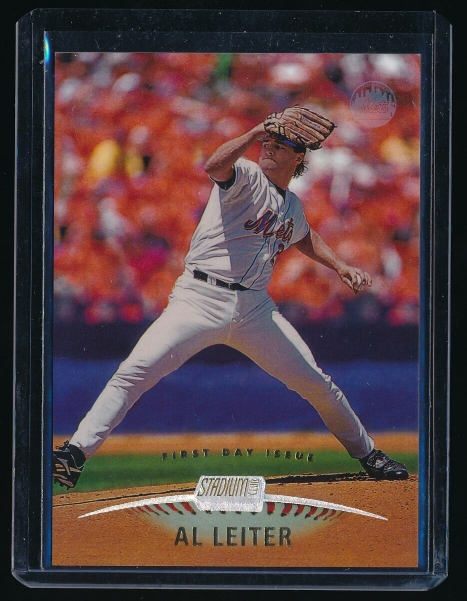 AL LEITER 1999 STADIUM CLUB FIRST DAY ISSUE 034/200 NEW YORK METS