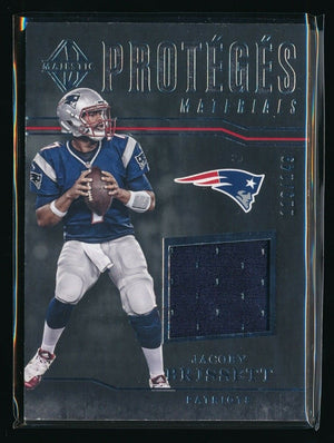 JACOBY BRISSETT 2017 PANINI MAJESTIC PROTEGES JERSEY 119/149 *COLTS*