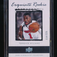 TERRENCE WILLIAMS 2009-10 EXQUISITE COLLECTION RC 114/225 NEW JERSEY NETS