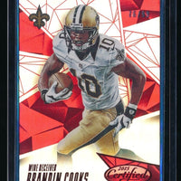 BRANDIN COOKS 2015 CERTIFIED MIRROR RED #96 76/99 NEW ORLEANS SAINTS