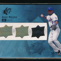 JOSE REYES 2008 SPX WINNING MATERIALS JERSEY 58/99 *NEW YORK METS*