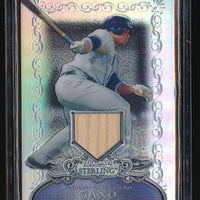 ROBINSON CANO 2006 BOWMAN STERLING REFRACTOR BAT 018/199 *NEW YORK YANKEES*