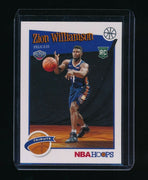 ZION WILLIAMSON 2019-20 HOOPS #296 RC *NEW ORLEANS PELICANS* (B)