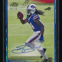 SAMMY WATKINS 2014 TOPPS PRIME AUTOGRAPH GOLD RC AUTO 65/75 *BUFFALO BILLS*