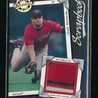 LANCE BERKMAN 2001 DONRUSS CLASS OF 2001 SCRAPBOOK JERSEY 347/525 HOUSTON ASTROS