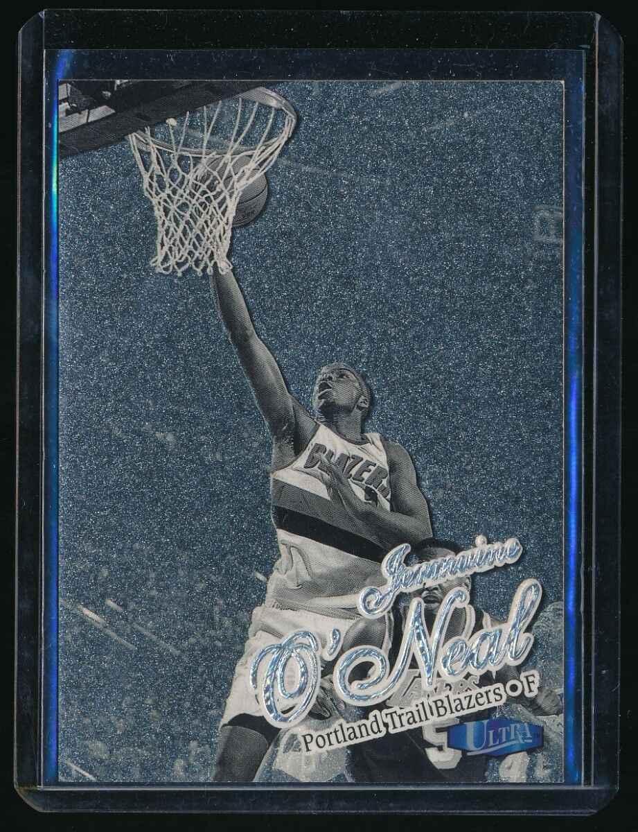 JERMAINE O'NEAL 1997-98 ULTRA PLATINUM MEDALLION #19 61/100 *TRAIL BLAZERS*