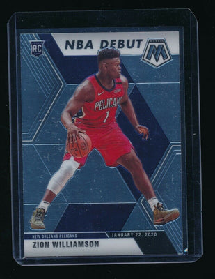 ZION WILLIAMSON 2019-20 PANINI MOSAIC #269 RC *NEW ORLEANS PELICANS*