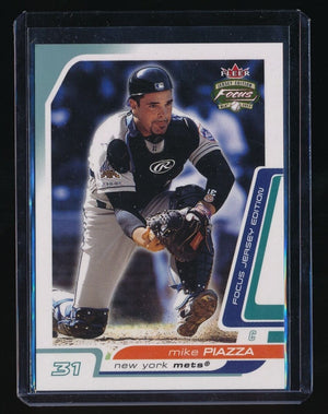 MIKE PIAZZA 2003 FLEER FOCUS JE CENTURY PARALLEL #40 026/131 *NEW YORK METS*