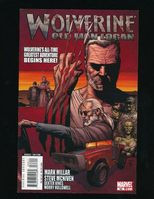 WOLVERINE #V3 MARVEL COMICS 8/2008 OLD MAN LOGAN STORYLINE BEGINS *UNPRESSED*