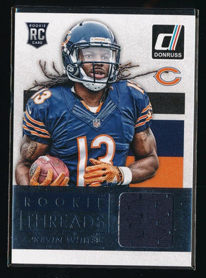 KEVIN WHITE 2015 DONRUSS ROOKIE THREADS RC JERSEY *CHICAGO BEARS*