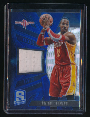 DWIGHT HOWARD 2013-14 PANINI SPECTRA SWATCH JERSEY 48/49 *HOUSTON ROCKETS*