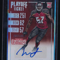 NOAH SPENCE 2016 PANINI CONTENDERS PLAYOFF TICKET RC AUTO 008/199 *TAMPA BAY*