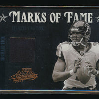 MICHAEL VICK 2004 ABSOLUTE MEMORABILIA MARKS OF FAME JERSEY 25/75 *FALCONS*