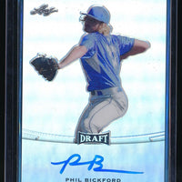 PHIL BICKFORD 2015 LEAF METAL DRAFT #BAPB1 AUTOGRAPH AUTO *MILWAUKEE BREWERS*