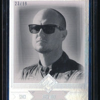 JOSH WISE 2014 TOTAL MEMORABILIA BLACK AND WHITE #30 23/99