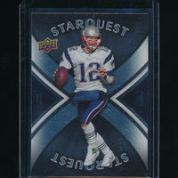 TOM BRADY 2008 UPPER DECK FIRST EDITION STARQUEST #SQ29 *NEW ENGLAND PATRIOTS*