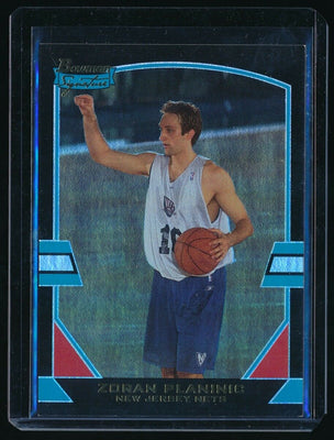 ZORAN PLANINIC 2003-04 BOWMAN SIGNATURE EDITION FOIL RC 016/125 NEW JERSEY NETS*