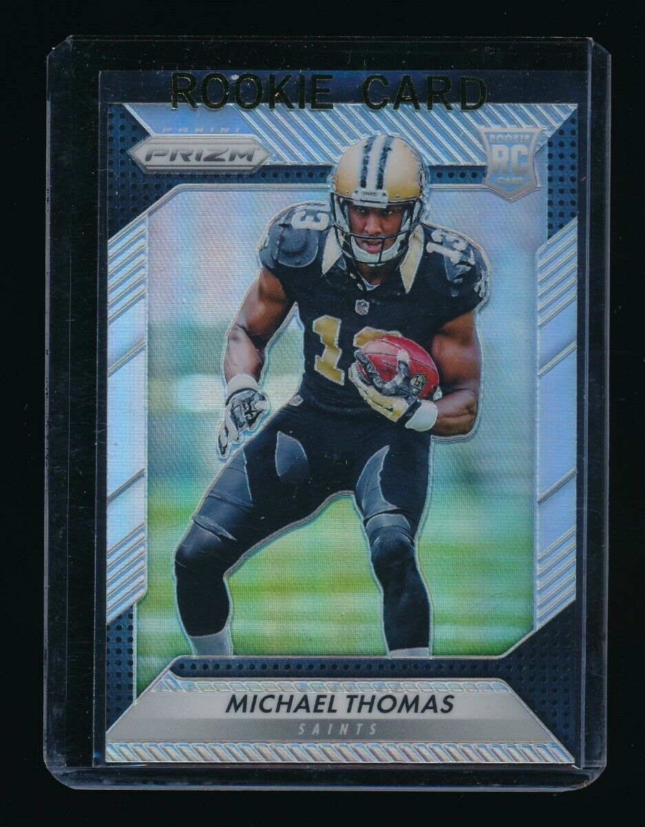MICHAEL THOMAS 2016 PANINI PRIZM SILVER #230 RC *NEW ORLEANS SAINTS*