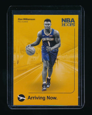 ZION WILLIAMSON 2019-20 HOOPS ARRIVING NOW #2 RC *NEW ORLEANS PELICANS*
