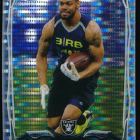 GEORGE ATKINSON III 2014 TOPPS CHROME MINI PULSAR REF RC 028/102 *RAIDERS*