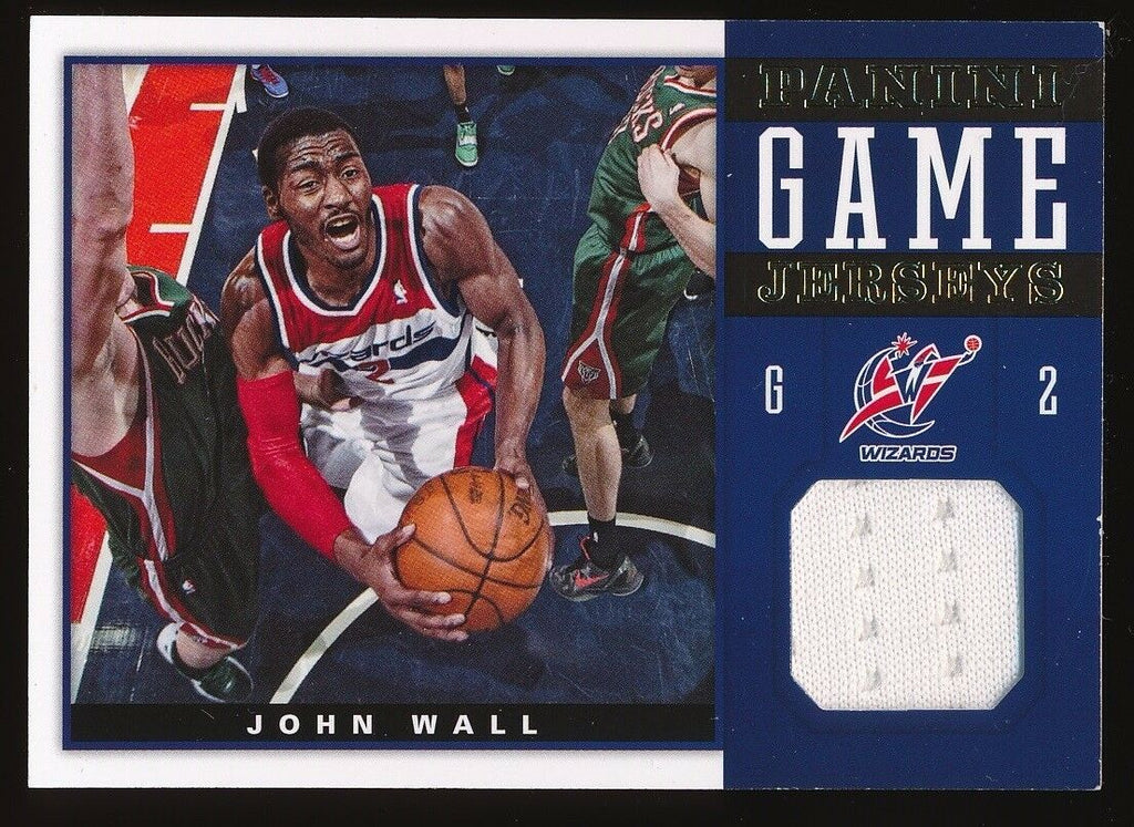 JOHN WALL 2012-13 PANINI GAME JERSEYS JERSEY *WASHINGTON WIZARDS*