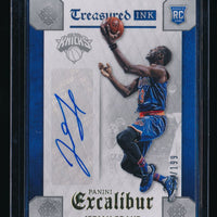 JERIAN GRANT 2015-16 PANINI EXCALIBUR TREASURED INK RC AUTO 135/199 *KNICKS*