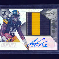 SAMMIE COATES 2015 PANINI CERTIFIED FRESHMAN FABRIC PATCH JERSEY AUTO RC #/799