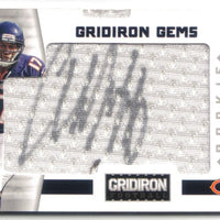 ALSHON JEFFERY 2012 GRIDIRON GEMS JUMBO JERSEY RC AUTO 116/202 CHICAGO BEARS