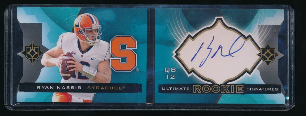RYAN NASSIB 2013 ULTIMATE COLLECTION RC AUTO 126/199 NEW YORK GIANTS
