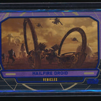 HAILFIRE DROID 2012 STAR WARS GALACTIC FILES BLUE FOIL #256 094/350