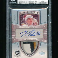 BGS 9 JUSSI JOKINEN 2005 UPPER DECK THE CUP PATCH JERSEY AUTOGRAPH AUTO RC #/199