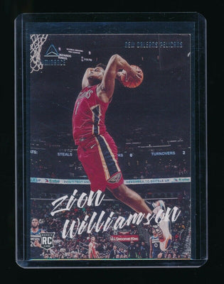 ZION WILLIAMSON 2019-20 PANINI CHRONICLES LUMINANCE RC *NEW ORLEANS PELICANS*