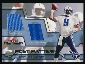 STEVE MCNAIR 2002 FLEER MAXIMUM JERSEY PAD *TENNESSEE TITANS*