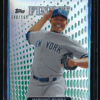 MARIANO RIVERA 2013 FINEST GREEN REFRACTOR #42 140/199 *NEW YORK YANKEES*