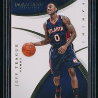 JEFF TEAGUE 2014-15 IMMACULATE COLLECTION #46 22/99 *ATLANTA HAWKS*