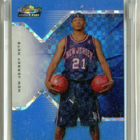 ANTOINE WRIGHT 2004-05 FINEST X-FRACTOR BLUE RC 06/25 NEW JERSEY NETS