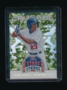 XAVIER LEGRANT 2015 USA BASEBALL STARS AND STRIPES CRUSADE RC CAMO 1/5 *RED SOX*