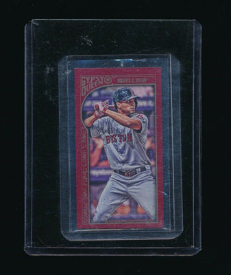XANDER BOGAERTS 2015 TOPPS GYPSY QUEEN MINI RED 49/50 *BOSTON RED SOX*