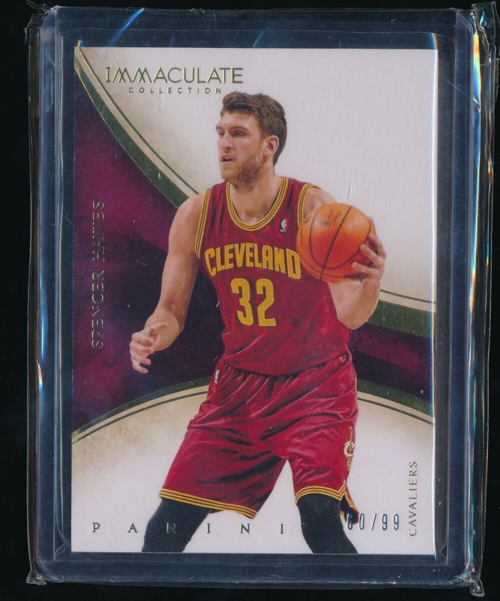 SPENCER HAWES 2013-14 IMMACULATE COLLECTION 60/99 CLEVELAND CAVALIERS