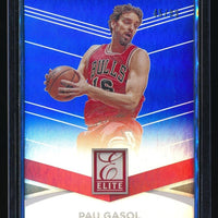 PAU GASOL 2014-15 ELITE BLUE #34 45/99 CHICAGO BULLS