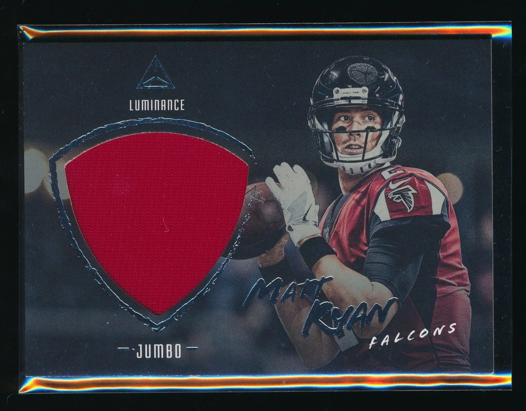 MATT RYAN 2018 PANINI LUMINANCE JUMBO JERSEY *ATLANTA FALCONS*