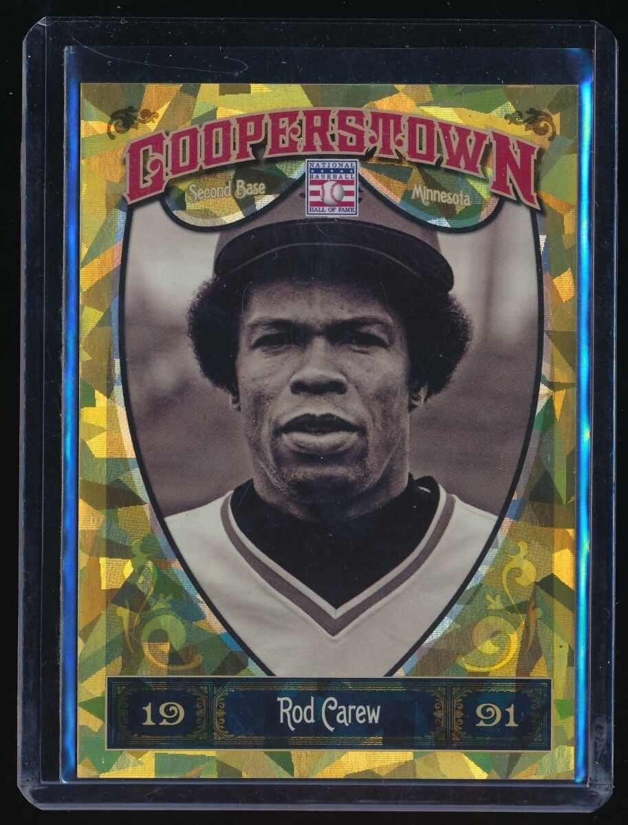 ROD CAREW 2013 PANINI COOPERSTOWN GOLD CRYSTAL #82 092/299 MINNESOTA TWINS