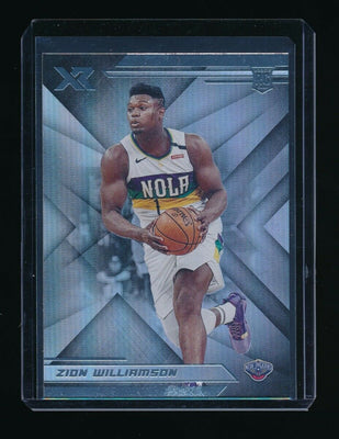 ZION WILLIAMSON 2019-20 PANINI CHRONICLES XR RC *NEW ORLEANS PELICANS*