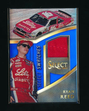 RYAN REED 2017 SELECT SELECT SWATCHES PRIZMS BLUE #49 SWATCH 061/199
