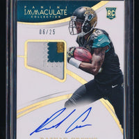 RASHAD GREENE 2015 IMMACULATE COLLECTION GOLD PATCH RC AUTO 06/25 *JAGUARS*