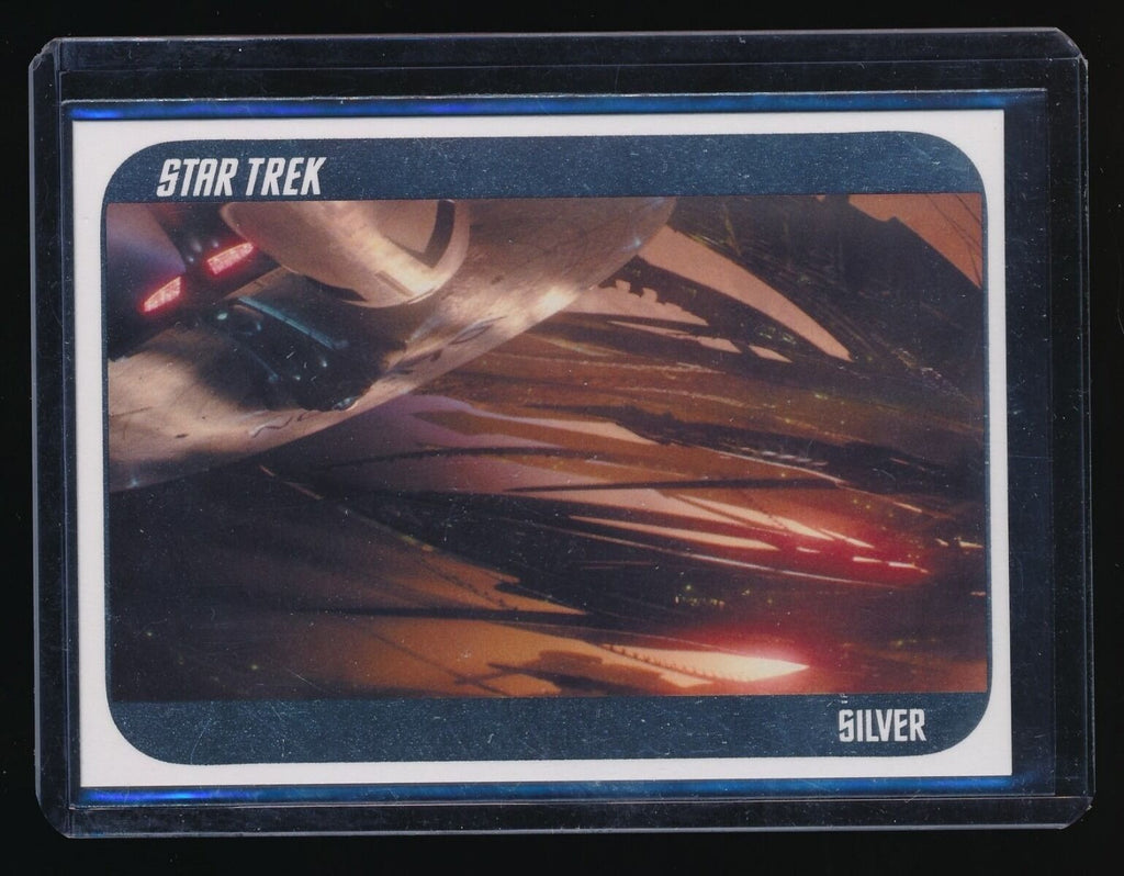 STAR TREK MOVIE 2014 STAR TREK MOVIES 2009 STAR TREK SILVER #45 '09 061/200