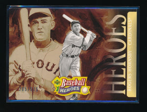 ROGERS HORNSBY 2005 UPPER DECK BASEBALL HEROES HDR 205/575 *ST. LOUIS CARDINALS*