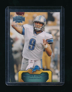 MATTHEW STAFFORD 2011 TOPPS TRIPLE THREADS EMERALD #75 200/250 *DETROIT LIONS*